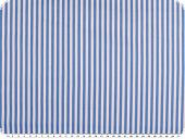Leftover, Cotton print, stripes, blue and white, 300x140cm